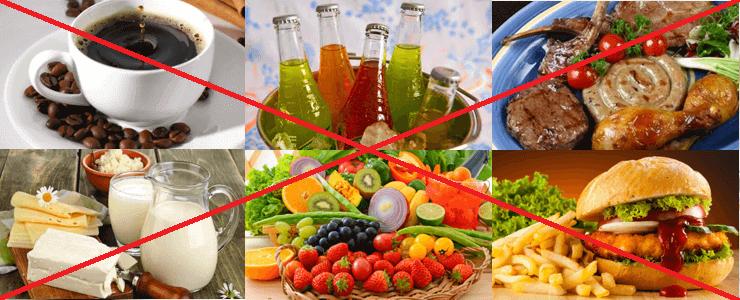 Питание при диарее: что нельзя есть?