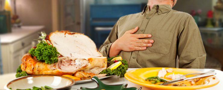 Неправильное питание часто бывает причиной расстройства желудка