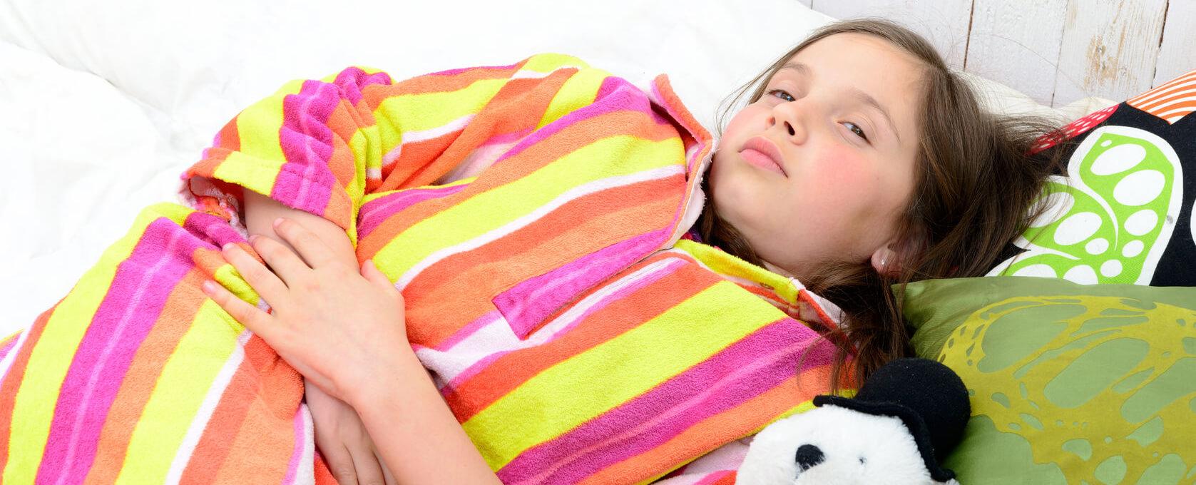 Что делать, если у ребенка понос и болит живот